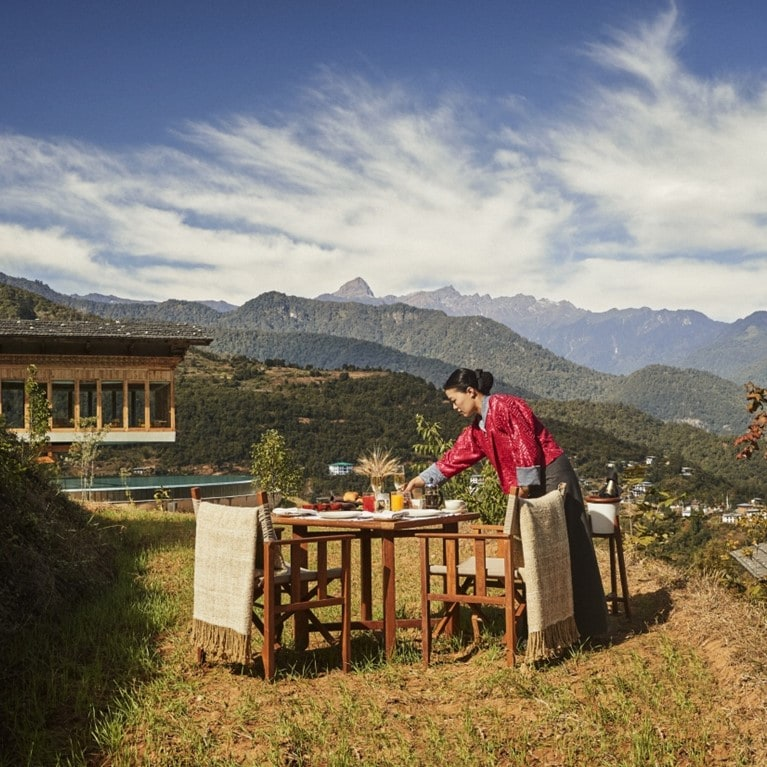 Punakha Private Breakfast Setup [9247 LARGE]