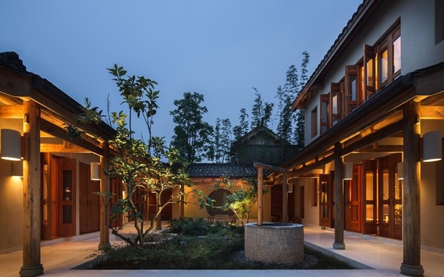 Qing Cheng Mountain China Courtyard Cluster