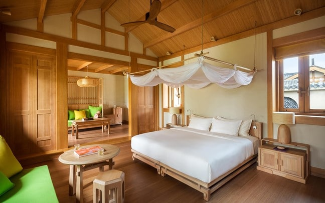 Qing Cheng Mountain China Six Senses Deluxe Suite
