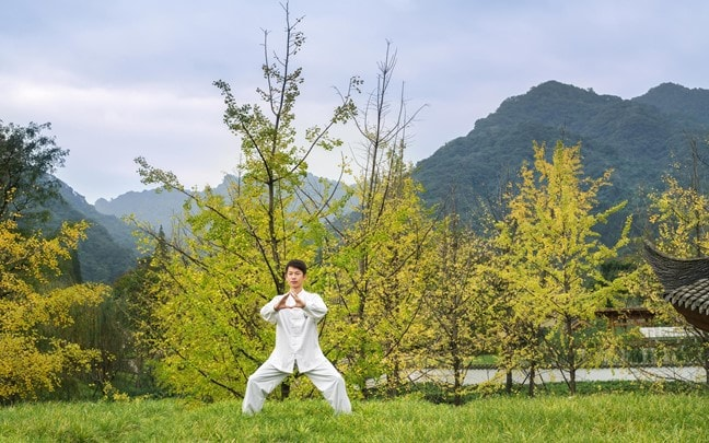 Qing Cheng Mountain China Tai Chi at Six Senses Spa