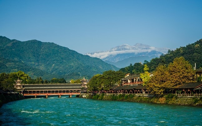 Qing Cheng Mountain China Dujiangyan daytime