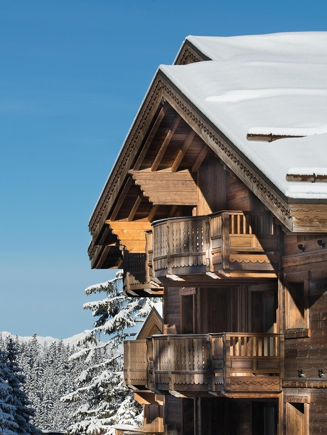 Courchevel France Six Senses Residences Courchevel exterior