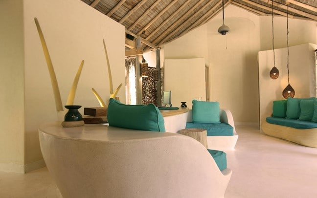 Laamu Maldives Spa Reception