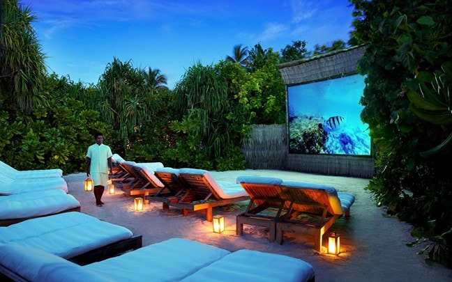 Laamu Maldives Jungle Cinema
