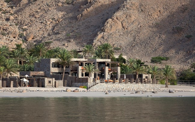 Three Bedroom Beachfront Retreat from Boat