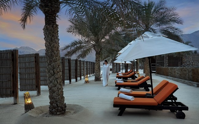 Zighy Bay Oman The Private Reserve beachfront