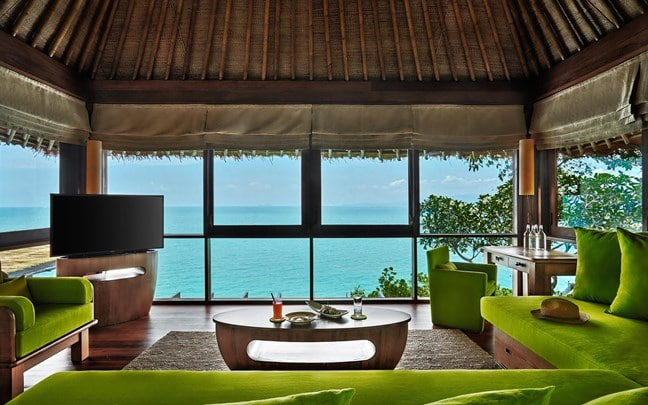 Samui Thailand The Retreat Living Room