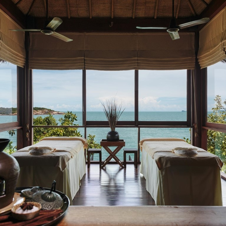 Six Senses Spa treatment room