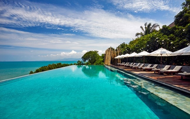 Samui Thailand Main Pool