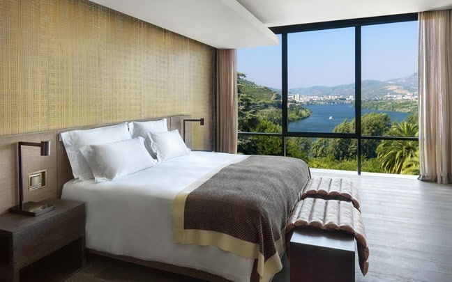 Douro Valley Portugal Quinta Panorama Suite bedroom