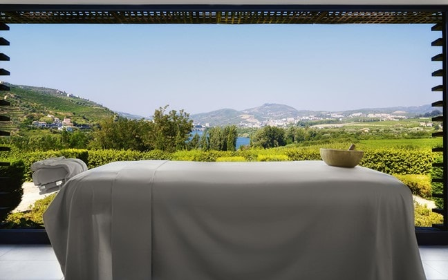 Douro Valley Portugal Spa treatment room