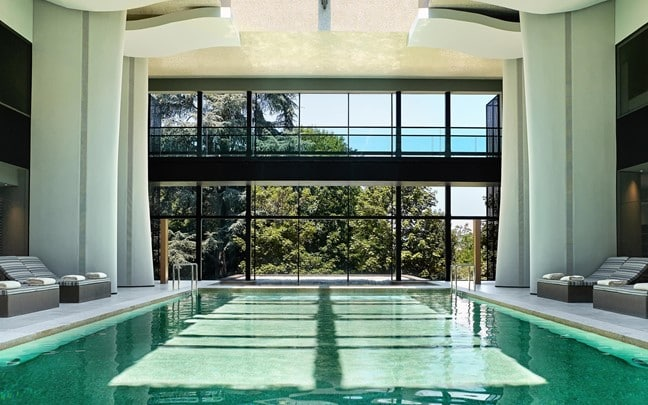 Douro Valley Portugal Spa indoor pool