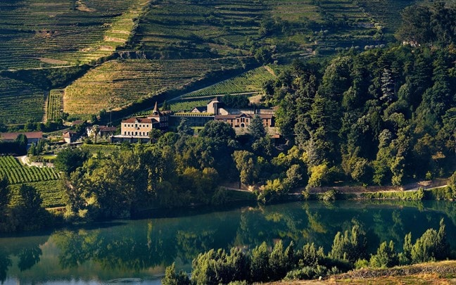 Douro Valley Portugal Six Senses Douro Valley from the west panorama