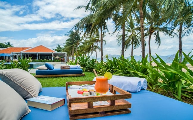 Nha Trang Vietnam Outdoor seating Ana Beach House