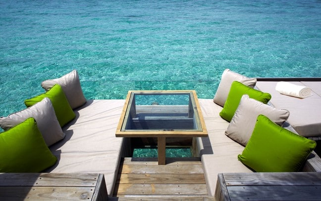 Laamu Maldives Water_Villa_Deck