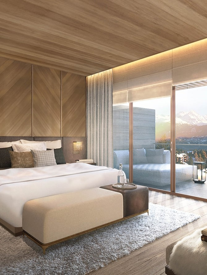 Six Senses Residences Crans Montana SwitzerlandBedroom