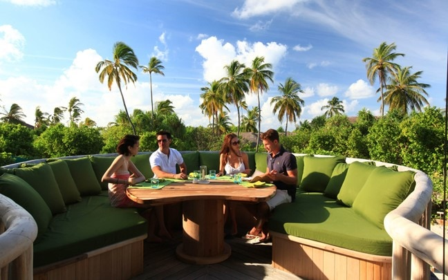 Laamu Maldives Outdoor_Dining_at_LEAF