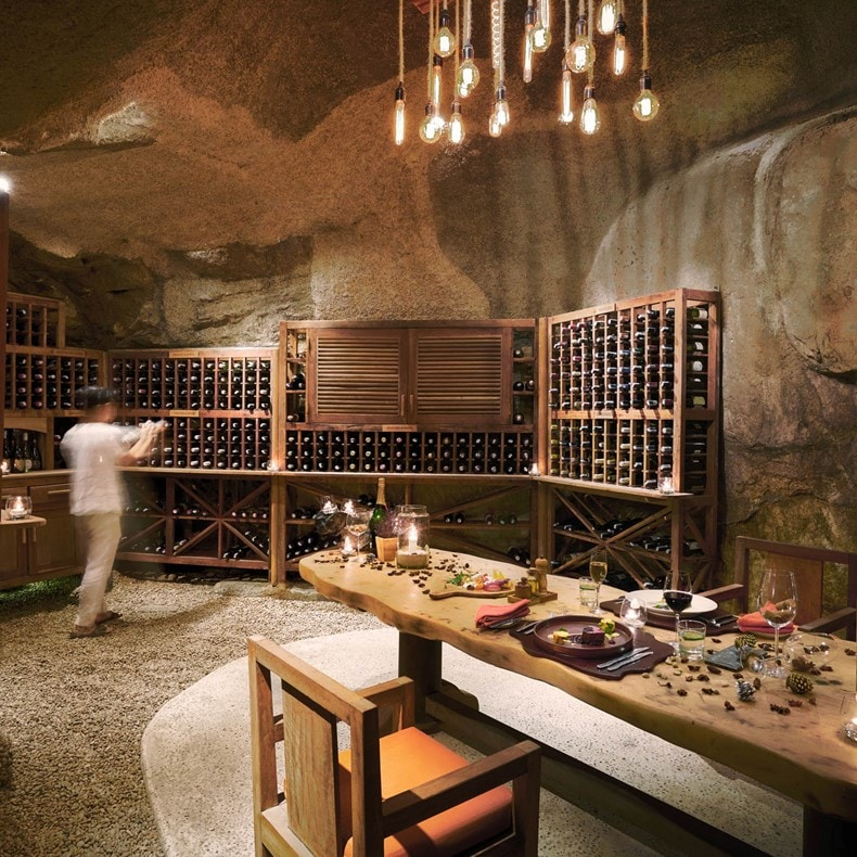Dinner in the Wine Cave