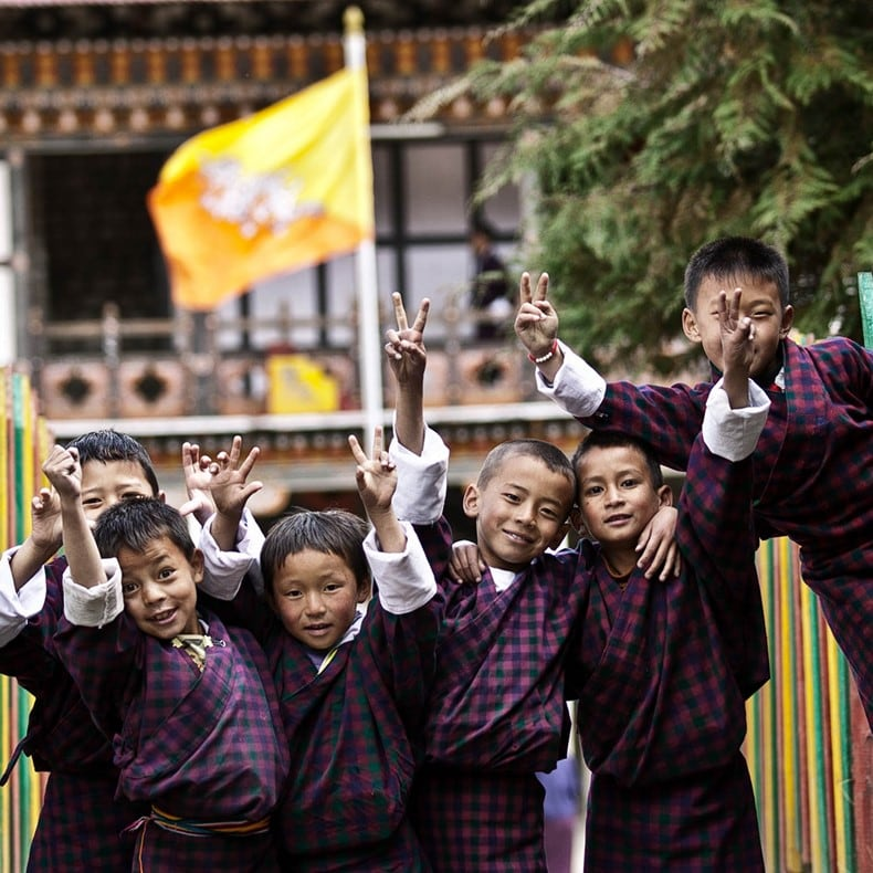 Talks on Gross National Happiness, education, sustainability and more