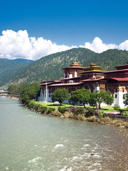 Bike Ride and Punakha Dzong