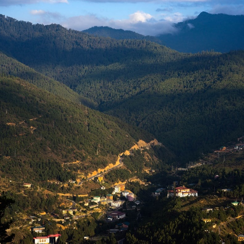 Bhutan View_from_Buddha_Point