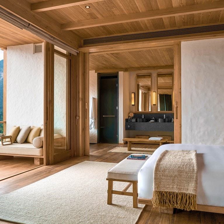 Lodge Suite at Six Senses Thimphu
