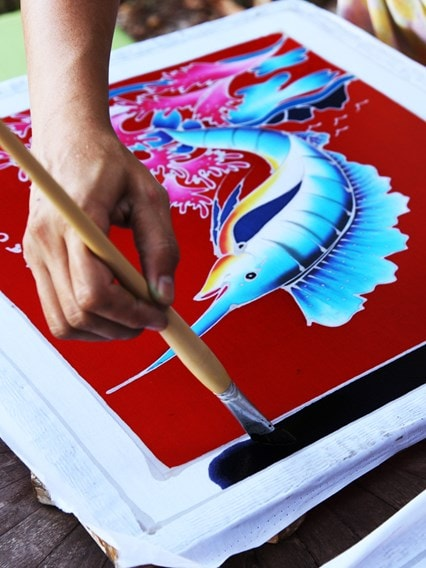 The Art of Batik Painting