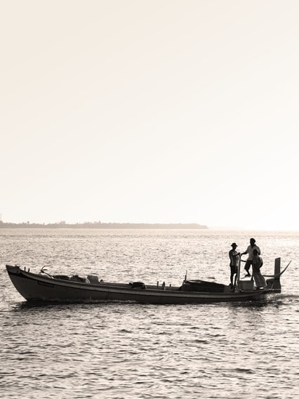 Traditional Maldivian fishing