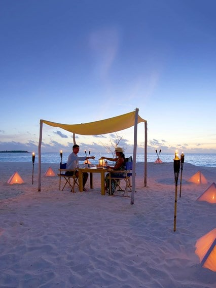 Barbecue Dinner on the Sandbank