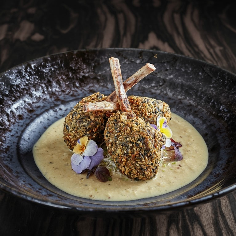 Courchevel-France-Sumosan-Courchevel-Furikake-Crusted-Rack-Of-Devon-Lamb